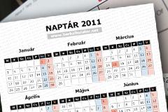 2010 évi naptár ünnepnapokkal Naptár 2011: ünnepnapok és munkaszüneti napok 2011 ben  2010 évi naptár ünnepnapokkal